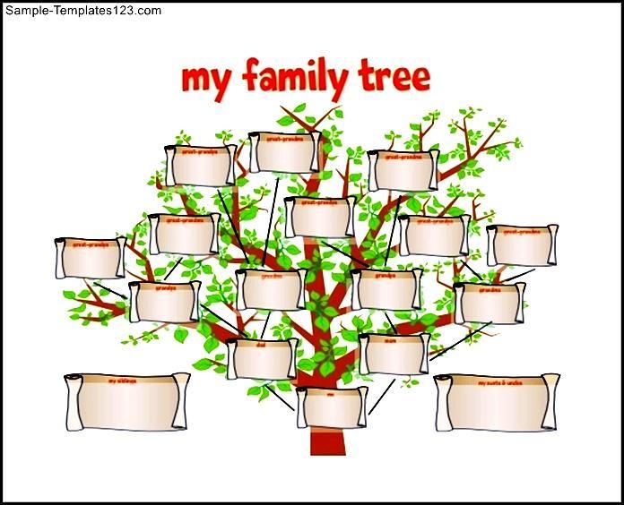 Family Tree Template Pdf Idealstalist