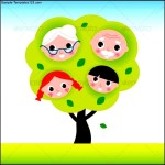 Family Tree for Kids with Grand Parents