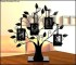 Family Tree with 4 Hanging Photo Template