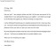 Farewell Letter Sample