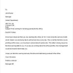 Final Warning Letter
