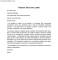 Finance Job Cover Letter Example