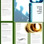 Financial Brochure Template