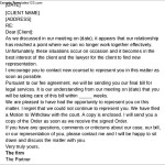 Firing the Client Termination Letter