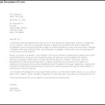 First Year Teacher Sample Cover Letter Template