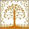 Floating Traditional Family Tree Art