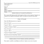 Form For Limited Power of Attorney
