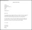 Formal Letter Of Resignation Template Word Doc
