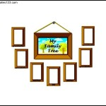 Frame Family Tree for Kids Example Template