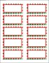 Free Christmas Address Labels Templates