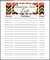 Free Christmas Card List Printable Google Doc