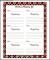 Free Christmas Shopping List PDF