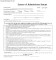 Free College Letter of Intent Template
