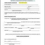 Free Downaload Notarized Letter for Proof of Residence
