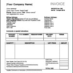 Free Download Indesign Invoice Template