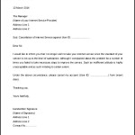 Free Download Internet Service Termination Letter Template