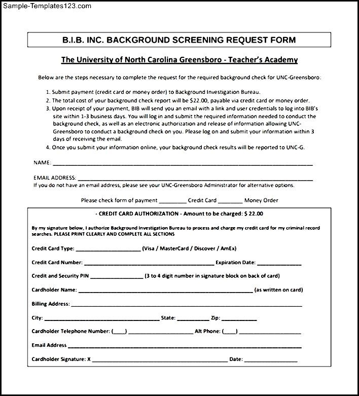 Free download pdf background check form sample templates for Background check form template free