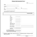 Free Download PDF Expense Reimbursement Form