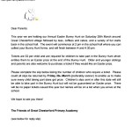 Free Easter Bunny Letters Kids