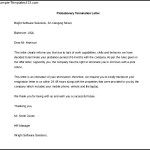 Free Editable Probationary Termination Letter Template