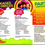 Free Example Birthday Party Policies Itinerary PDF Format Template
