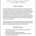 Free HR Strategic Plan Template