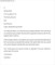 Free Job Rejection Letter Template