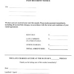 Free Past Due Letter Template