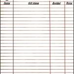 Free Printable Christmas Planner Gift List