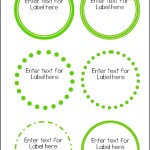 Free Round Label Templates Download