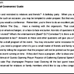 Free Sample Excellent Master Of Ceremonies Guide