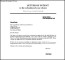 Free School Application Letter of Intent Template Example PDF Format