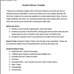 Free Vacation Itinerary Template Download