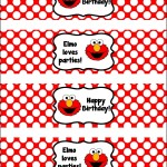 Free Water Bottle Label Template For Birthday