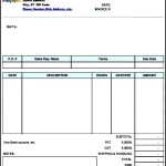 Freelance Invoice Template in PDF Format