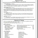 Fresh Graduate Nursing Resume