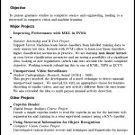 Freshers Resume Format PDF Sample