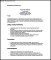 Functional CV Template PDF Printable