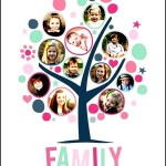 Funny Family Tree with Frames