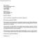 General Confirmation Letter