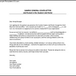 General Employment Cover Letter Example PDF Template Free Download