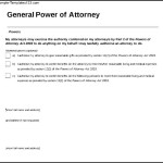 General Power of Attorney Form Download