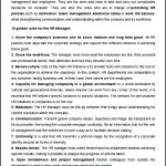 Golden Rules For The HR Manager