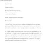 Good Example for Business cover Letter