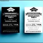 Graduation Party Invitations Templates