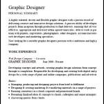 Graphic Designer Cv Example PDF