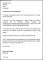 Grievance Acknowledgement Letter