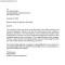 Grievance Procedure Letter