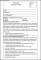 HR Job Description Form Template