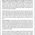 HR Political Expression Guidelines Template